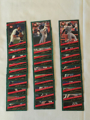 1994 Post Cereal Complete 30 Card Set W Mike Piazza Rookie