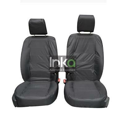 Land Rover Discovery 2 Inka Front Fully Tailored Waterproof Seat Cover Grey