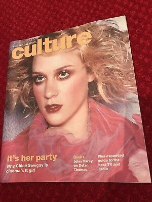 **chloe Sevigny Rare Uk Sunday Times Culture Magazine - Excellent Condition**
