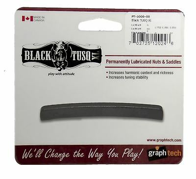 Graphtech Black Tusq XL Guitar NUT - BLANK STANDARD