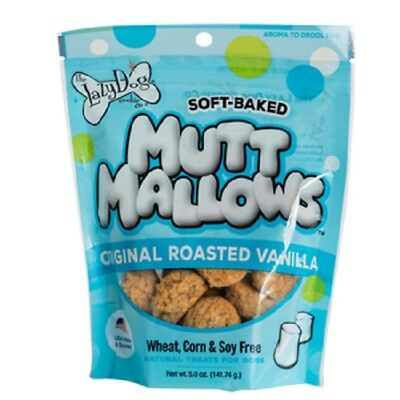 Lazy Dog ROASTED VANILLA Mutt Mallow Natural Soft Cookie Wheat FREE Holiday