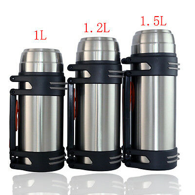 Stainless Steel Vacuum Thermos Hot&Cold Flask Bottle  Water Bottle cup mug