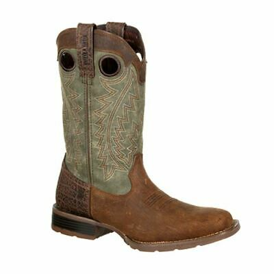 Durango Men's Mustang Faux Exotic Western Brown Boots DDB0156