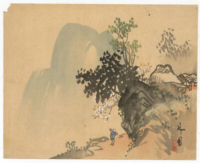 Genuine Japanese Painting in Literary style