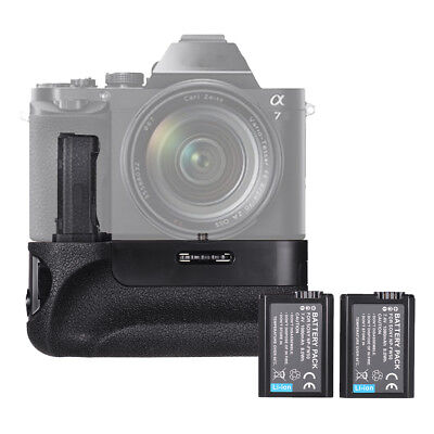 For Sony A7/A7R/A7S Vertical Camera Battery Grip +2*NP-FW50 2.4G Wireless I6L5