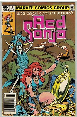 Red Sonja #1 1983 Marvel Bronze Age First Issue Nice!