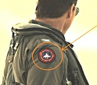 "TOP GUN II NAWCWD China Lake Col. Pete ""Maverick"" Mitchell INSTRUCTOR'S PATCH"