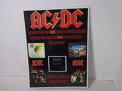 XX  AC / DC promotion-store display counter top Cardboard laminated