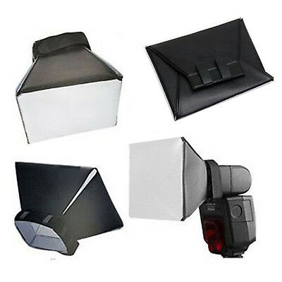 Universale Pieghevole Diffusore Softbox per Canon Nikon Pentax Off-Camera Flash