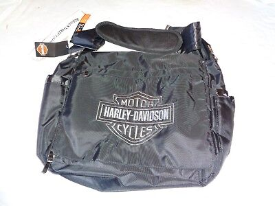 Harley-Davidson baby Embroidered Bar and Shield Diaper Bag