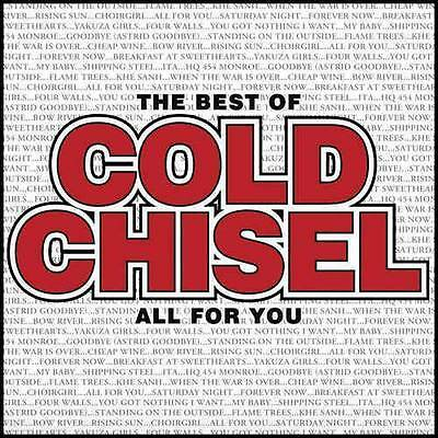 COLD CHISEL The Best Of All For You 2CD BRAND NEW Slipcase