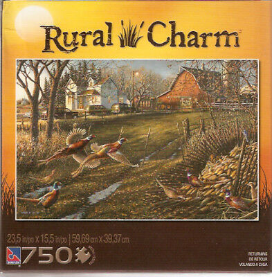 Pheasant Farm Barn Rural Puzzle 750 pieces Returning (b)