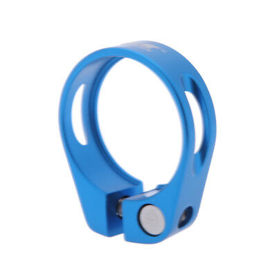 Bicycle Mountain Road MTB Bike 34.9mm Quick Release Seat Post Clamp Tube X5N7