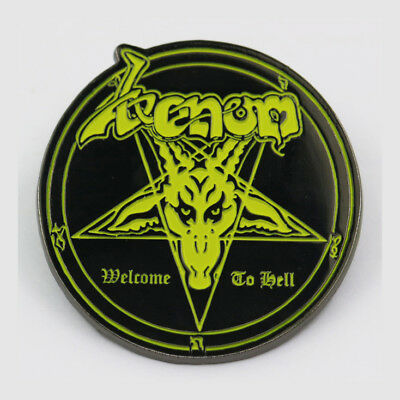 Venom-Welcome To Hell-Metal Pin Badge