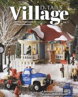 2017 Department Dept. 56 Village D-Tails Collector Price ID Guide w Handbook 4th