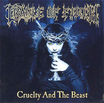 Cradle Of Filth – Cruelty And The Beast CD Sony BMG 2006 NEW