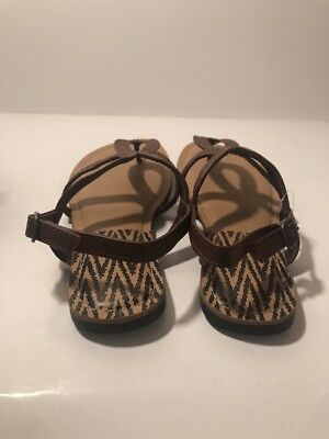 83ee7a6fe3e372 TIME AND TRU Women s Shandle Strappy Sandals -  14.00