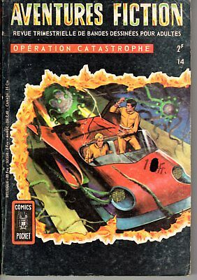 Aventures Fiction 14 Operation Catastrophe  Aredit 1969