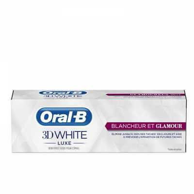 Oral B Dentifrice 3D WHITE LUXE Blancheur & Glamour 75ml