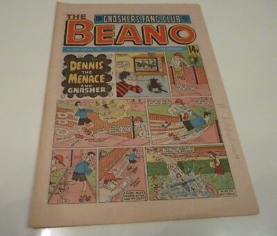 Beano Comic No.2245 July 27th 1985. Dennis The Menace....