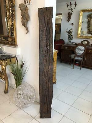 alter Holzpfosten Holzbohlen Altholz,166cm  Holzbrett, Bar, Regal X1779