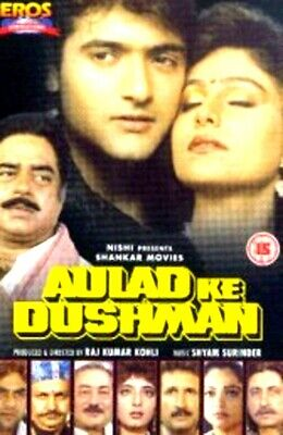 Aulad Ke Dushman - Shatru Ganjsinha - New Bollywood Dvd - Free Uk Post