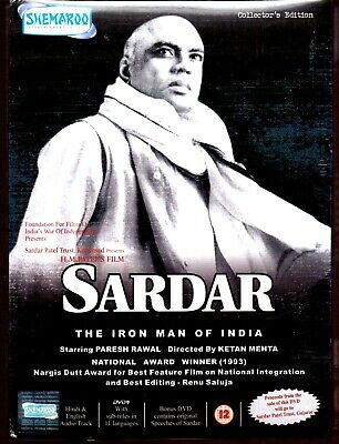 Sardar - Paresh Rawal - New 2 Disc Bollywood Dvd - Free Uk Post