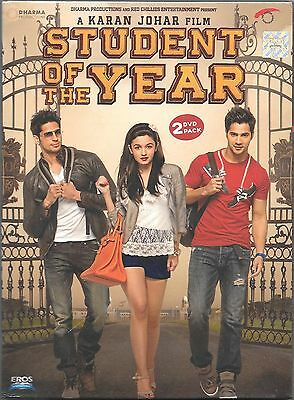 STUDENT OF THE YEAR - Siddharth Malhotra, Alia Bhatt - NEW BOLLYWOOD 2DVDs PACK
