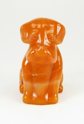 Boyd Glass Tomato Creme Pooche Pooch #1 - Made October 1978