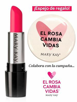 labial solidario. color rosa poderoso mary kay, Powerfull pink,