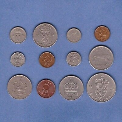 Norway - Coin Collection - Lot # Z-100 - World/Foreign/Europe