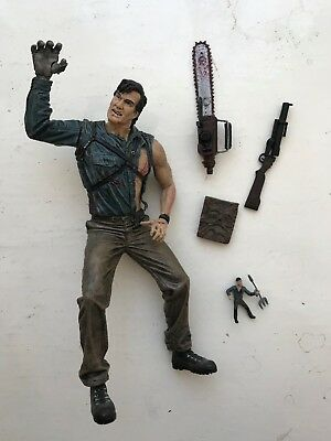 Mcfarlane Ash Vs Evil Dead Horror Action Figure Movie Maniacs Army Of Darkness