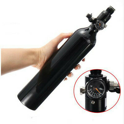 0.5L Cylinder Tank High Compressed Air Bottle w/ 4500psi Regulator For Paintball
