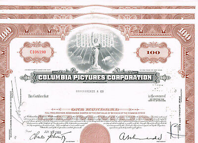 Set 3 Columbia Pictures Corp., 1950s, brown, VF+