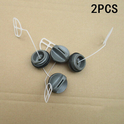 2pc Set Chainsaw Gas Fuel Tank Cap with Oil Cap For Husqvarna 340 345 346 350 #X