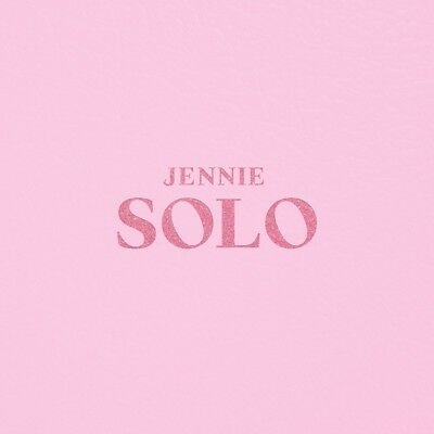 JENNIE BLACKPINK - SOLO Photobook+CD+Double Side Folded Poster+Tracking no.