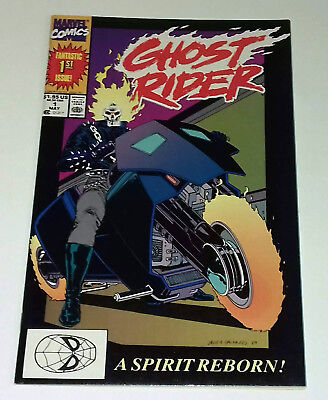 Ghost Rider #1 first Danny Ketch 1990 first print Marvel Comics