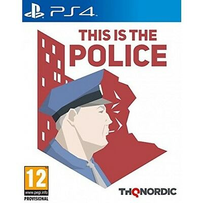 This Is The Police (PS4)  BRAND NEW AND SEALED - IN STOCK - QUICK DISPATCH