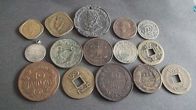 INTERESTING JOB LOT OF OLD COINS 99p  SH25-3
