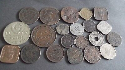 INTERESTING JOB LOT OF OLD COINS 99p  KUP-3