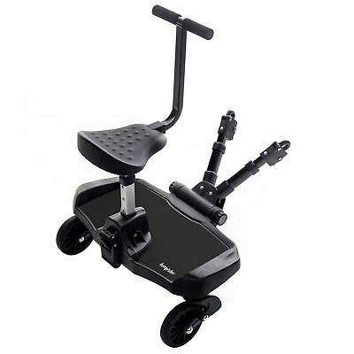 Bumprider SIT STROLLER BOARD BLACK Pushchair Pram Stroller Accessory BN