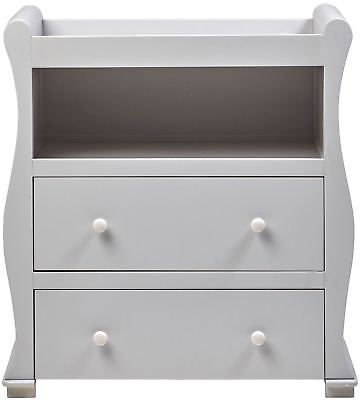 East Coast ALASKA DRESSER - GREY Baby Child Nursery Furniture BN