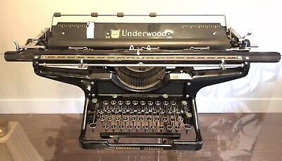 Antique Vintage 1923 Underwood No. 20 Standard Typewriter (Works) #4534200-20