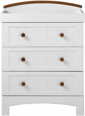 East Coast 'COAST' DRESSER WHITE Baby Child Nursery Furniture BN