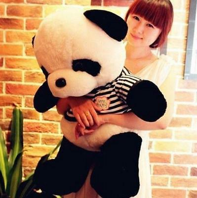 "60CM/ 24"" Big Size Cute Stuffed Animal Panda Pillow Bolster Plush Doll Toy Gift"