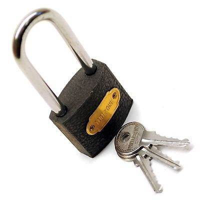 38mm Iron Padlock With Hardened Shackle Padlocks Shed Gate Lock TE154