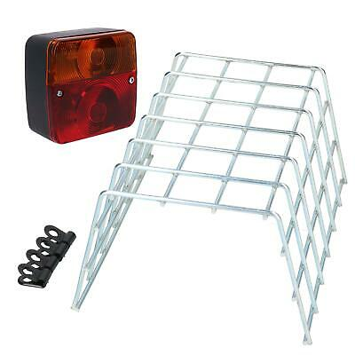 Trailer / Caravan Light or Replacement Lighting Board Lamp & Guard Cage Cover
