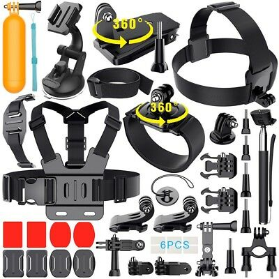 Accessories Kit Pole Floating Monopod Mount For GoPro Hero 5 4 3 2 Sports Camera
