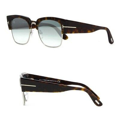 d671296c3f New Tom Ford Sunglasses Dakota - Dark Havana Silver Mirror Women - Retail   470