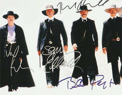 REPRINT - TOMBSTONE Cast Autographed Signed 8 x 10 Photo Poster RP